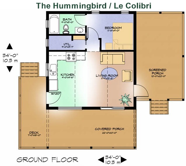 1000 images about cottages on pinterest for Hummingbird house plans