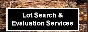 Lot Search & Evaluation Services