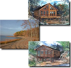 Country Cabin Getaways, Cottage  and Cabin Models