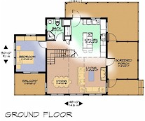 The Water Hemlock ground floor plan
